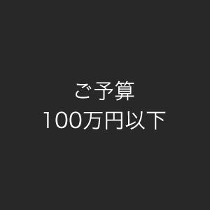 ご予算100万円以下